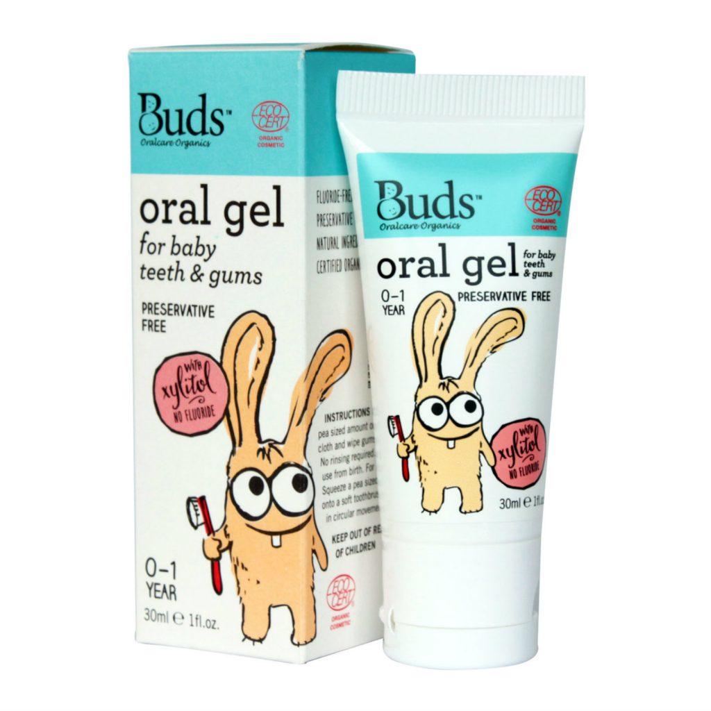 Buds Organics Baby Oral Gel Xylitol